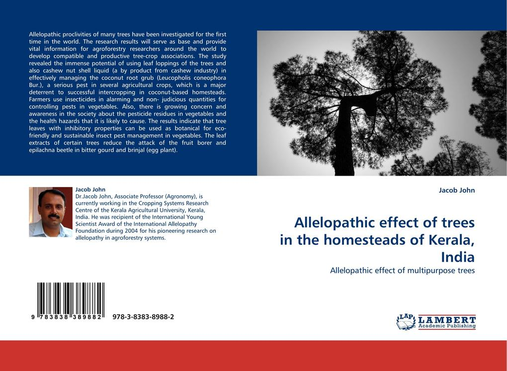Allelopathic effect of trees in the homesteads of Kerala, India als Buch (kartoniert)