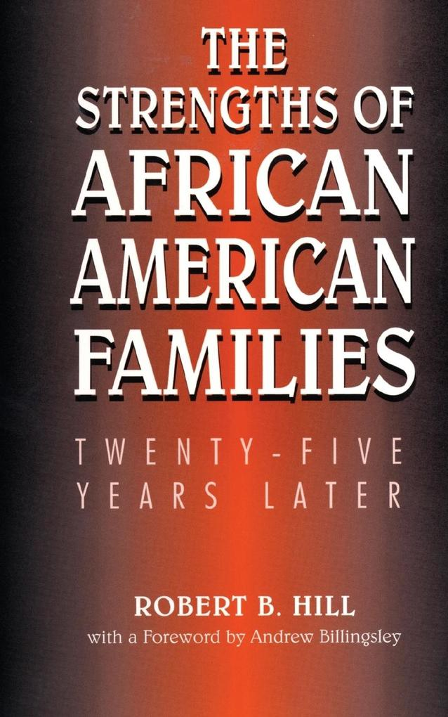 The Strengths of African American Families als Taschenbuch