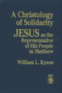 A Christology of Solidarity als Buch (gebunden)