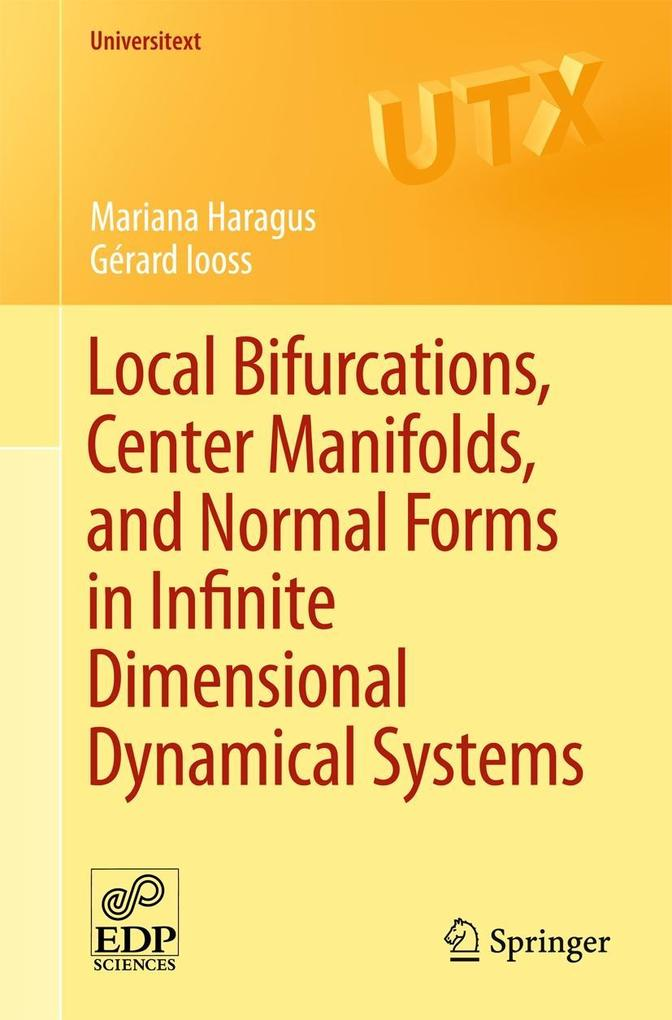 Local Bifurcations, Center Manifolds, and Normal Forms in Infinite-Dimensional Dynamical Systems als Buch (kartoniert)