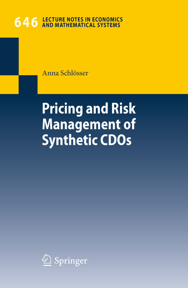 Pricing and Risk Management of Synthetic CDOs als Buch (kartoniert)