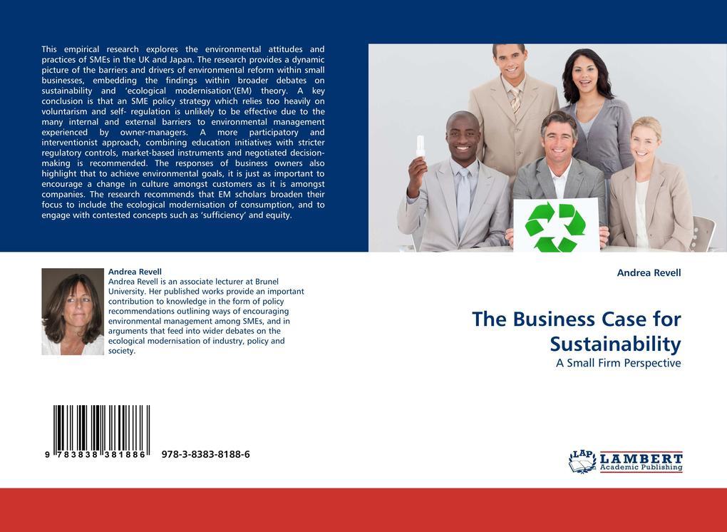The Business Case for Sustainability als Buch (kartoniert)