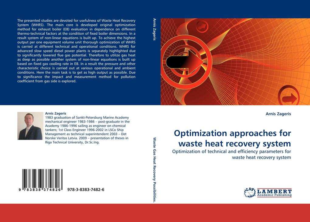 Optimization approaches for waste heat recovery system als Buch (gebunden)
