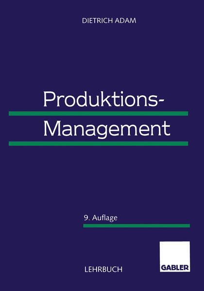 Produktions-Management als Buch
