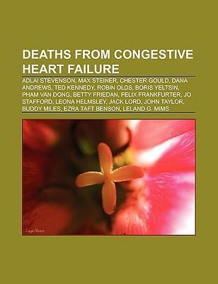 Deaths from congestive heart failure als Taschenbuch