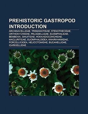 Prehistoric gastropod Introduction als Taschenbuch
