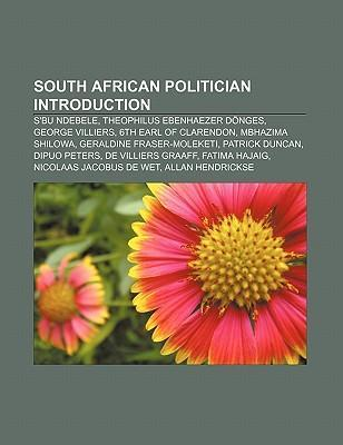 South African politician Introduction als Taschenbuch