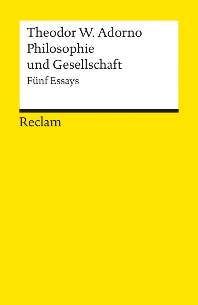 Philosophie und Gesellschaft als Taschenbuch