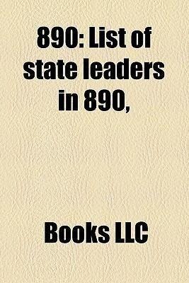 890: List of State Leaders in 890, als Taschenbuch