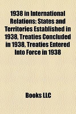 1938 in international relations als Taschenbuch