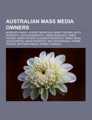 Australian mass media owners als Taschenbuch