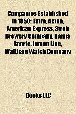 Companies established in 1850 als Taschenbuch