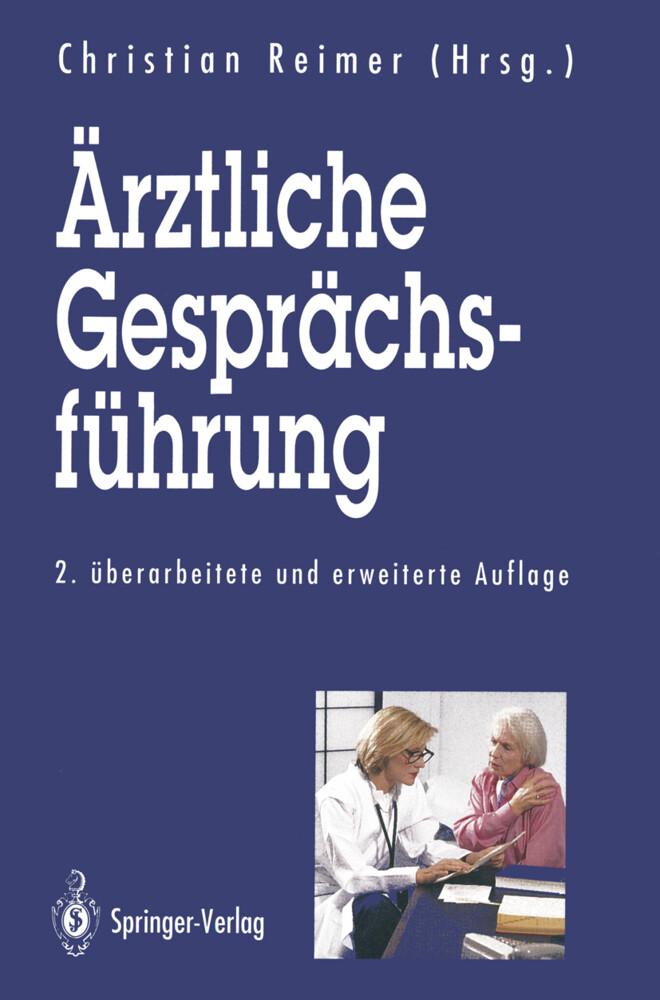 Ärztliche Gesprächsführung als Buch (kartoniert)