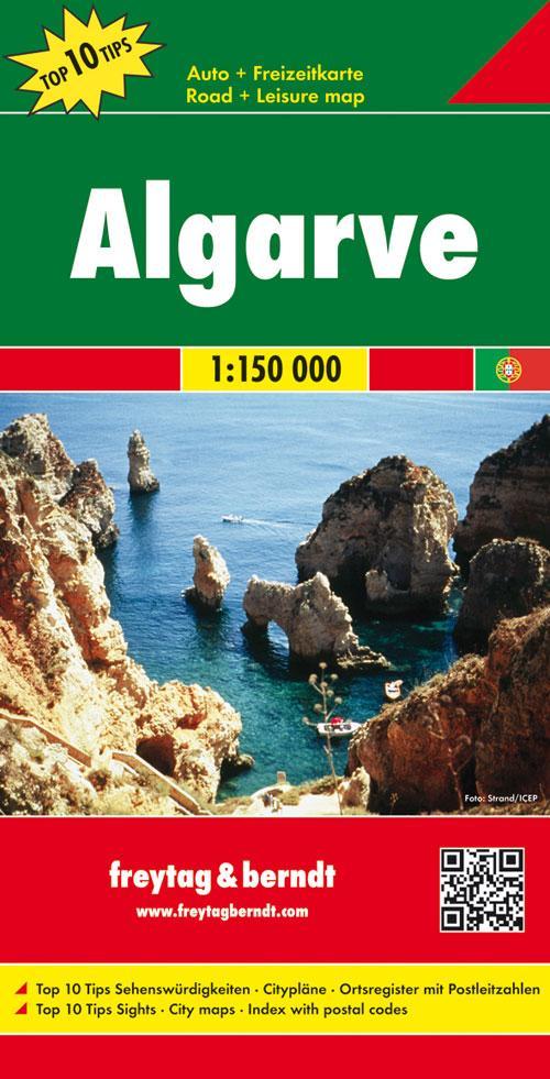 Algarve 1 : 150 000 als Buch