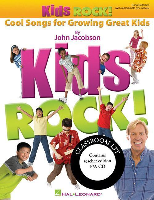 Kids Rock!: Cool Songs for Growing Great Kids [With CD (Audio)] als Taschenbuch