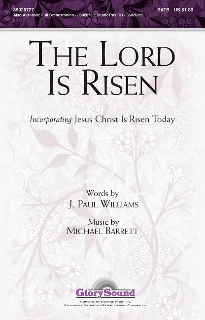 The Lord Is Risen als Hörbuch CD