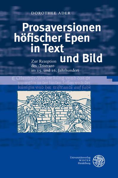 Prosaversionen höfischer Epen in Text und Bild als Buch (gebunden)