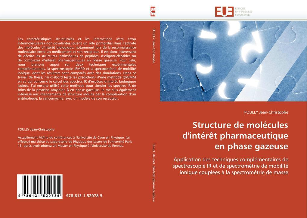 Structure de Molécules d''intérèt Pharmaceutique En Phase Gazeuse als Taschenbuch