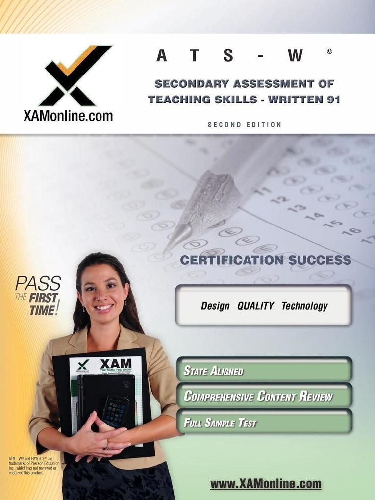 NYSTCE Ats-W Secondary Assessment of Teaching Skills - Written 91 Teacher Certification Test Prep Study Guide als Taschenbuch
