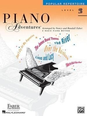 Piano Adventures: Popular Repertoire, Level 2b als Taschenbuch