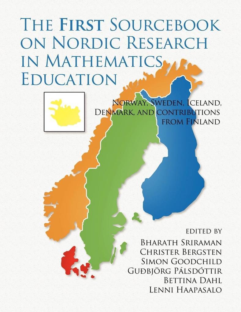 The First Sourcebook on Nordic Research in Mathematics Education als Taschenbuch