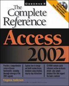 Access 2002: The Complete Reference (Book/CD-ROM) als Buch (kartoniert)