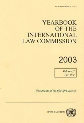 Yearbook of the International Law Commission 2003 als Taschenbuch