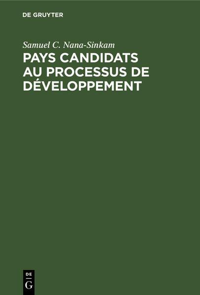 Pays candidats au processus de développement als Buch (gebunden)
