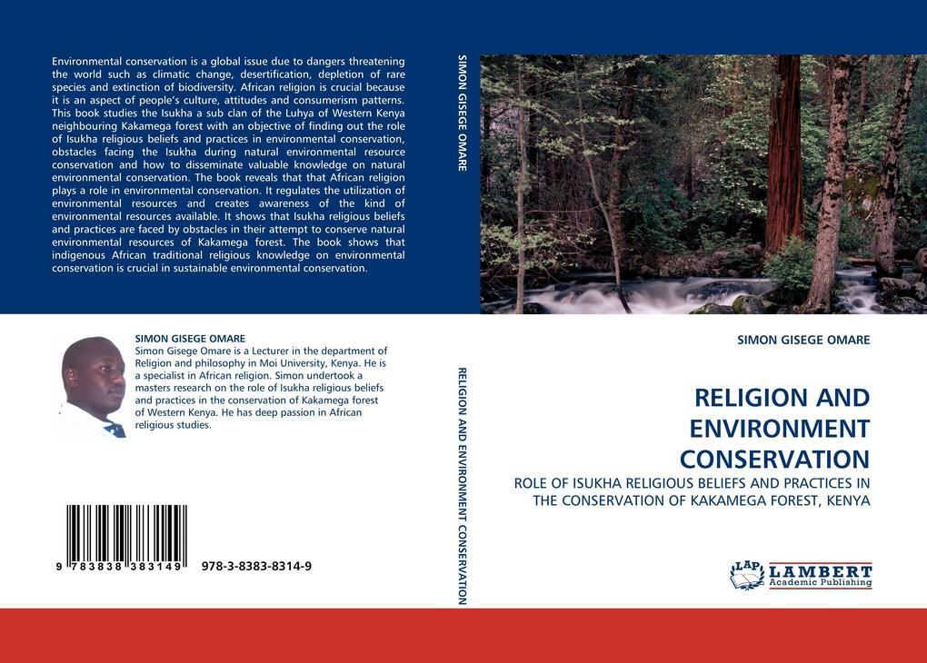 RELIGION AND ENVIRONMENT CONSERVATION als Buch (kartoniert)