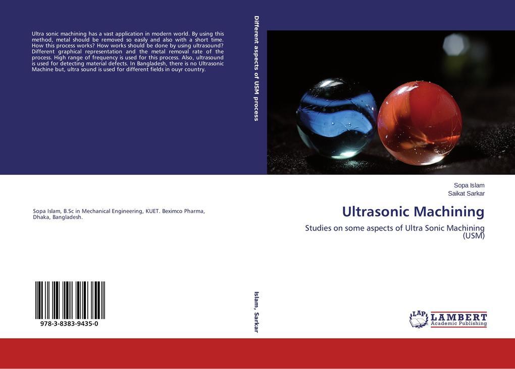 Ultrasonic Machining als Buch (kartoniert)