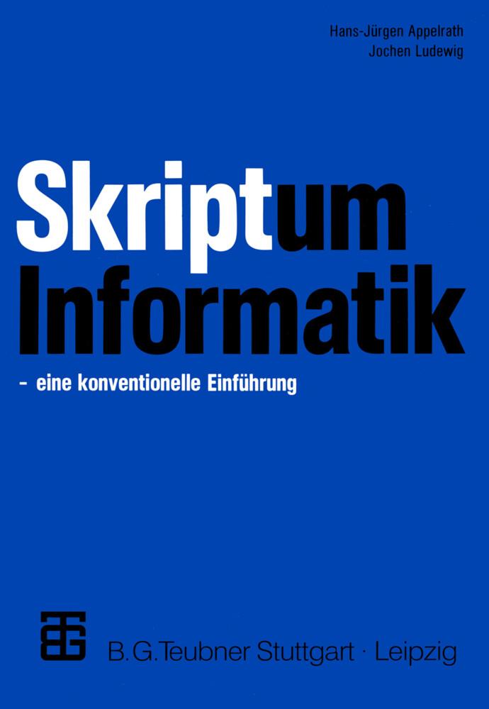 Skriptum Informatik als Buch (kartoniert)