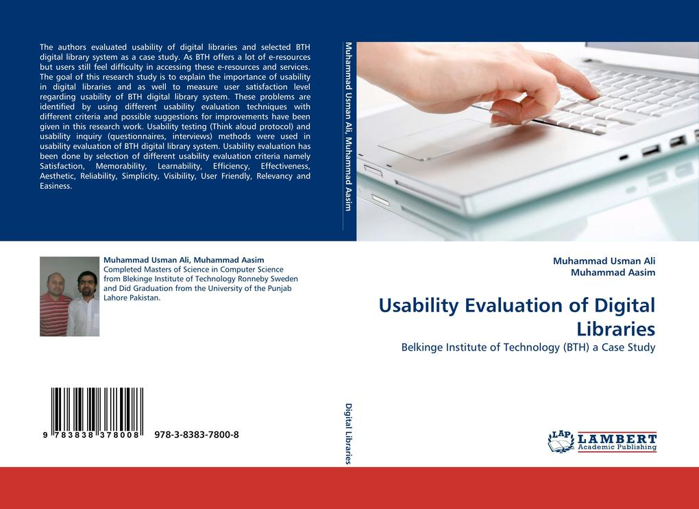 Usability Evaluation of Digital Libraries als Buch (kartoniert)