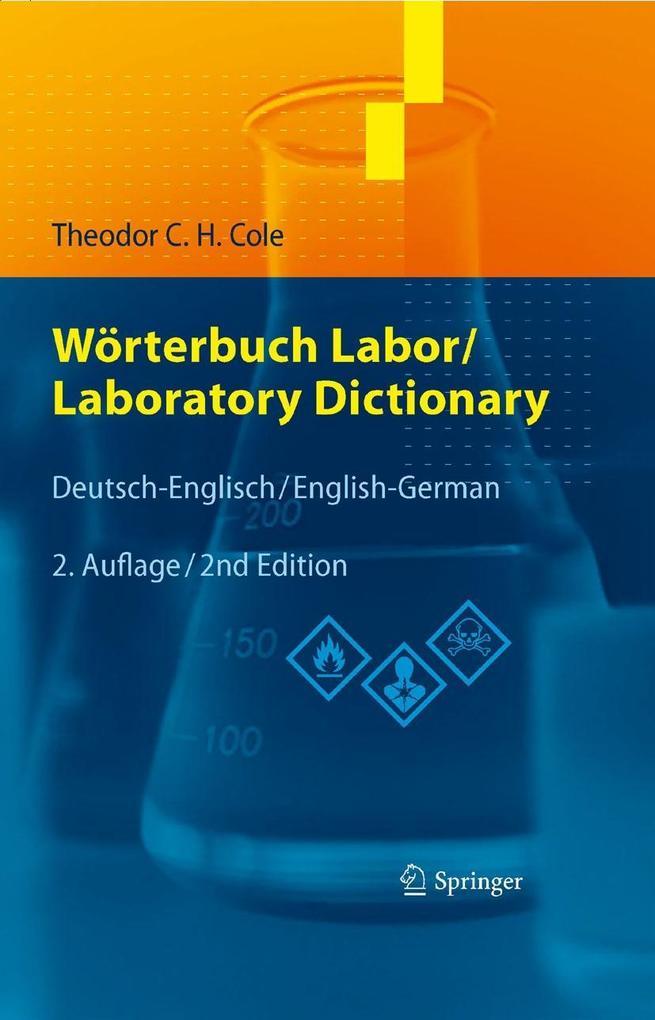Wörterbuch Labor / Laboratory Dictionary als eBook pdf