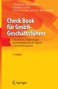 Check Book für GmbH-Geschäftsführer