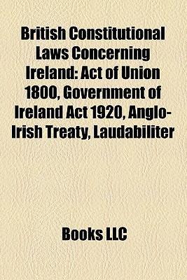 British constitutional laws concerning Ireland als Taschenbuch