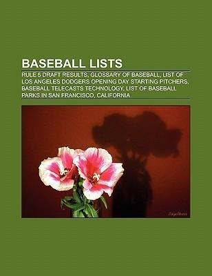 Baseball lists als Taschenbuch