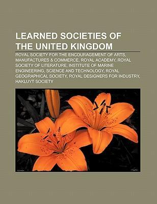 Learned societies of the United Kingdom als Taschenbuch