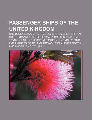 Passenger ships of the United Kingdom als Taschenbuch