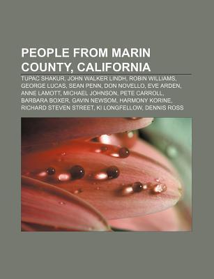 People from Marin County, California als Taschenbuch