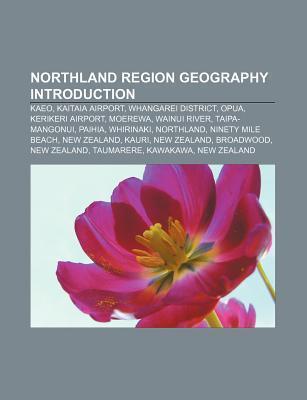 Northland Region geography Introduction als Taschenbuch