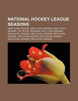 National Hockey League seasons als Taschenbuch