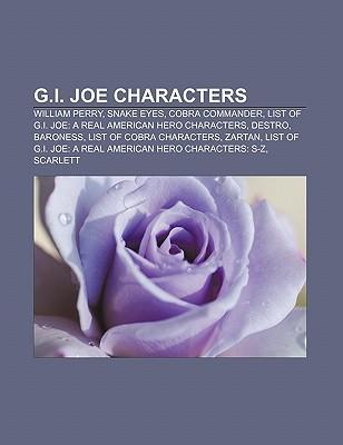 G.I. Joe characters als Taschenbuch