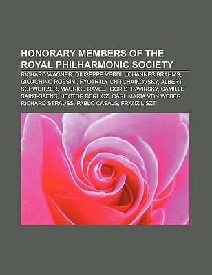 Honorary Members of the Royal Philharmonic Society als Taschenbuch