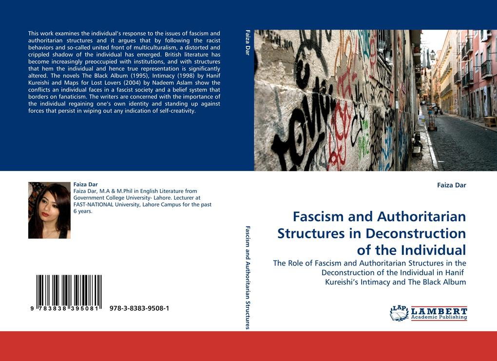 Fascism and Authoritarian Structures in Deconstruction of the Individual als Buch (kartoniert)