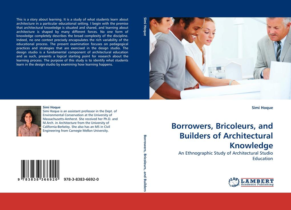Borrowers, Bricoleurs, and Builders of Architectural Knowledge als Buch (kartoniert)