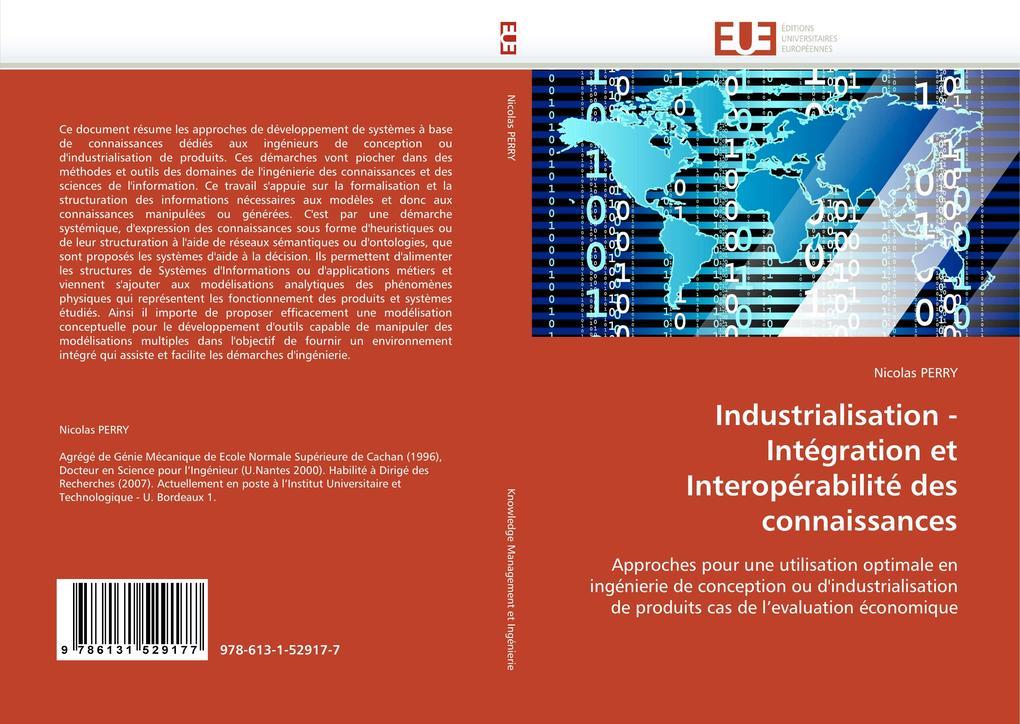 Industrialisation - Intégration Et Interopérabilité Des Connaissances als Taschenbuch