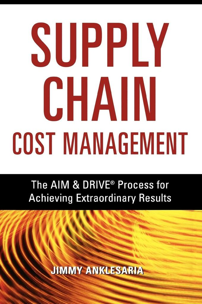 Supply Chain Cost Management als Taschenbuch