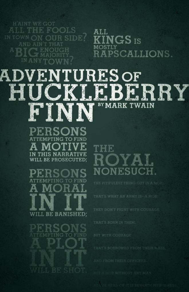 The Adventures of Huckleberry Finn (Legacy Collection) als Taschenbuch