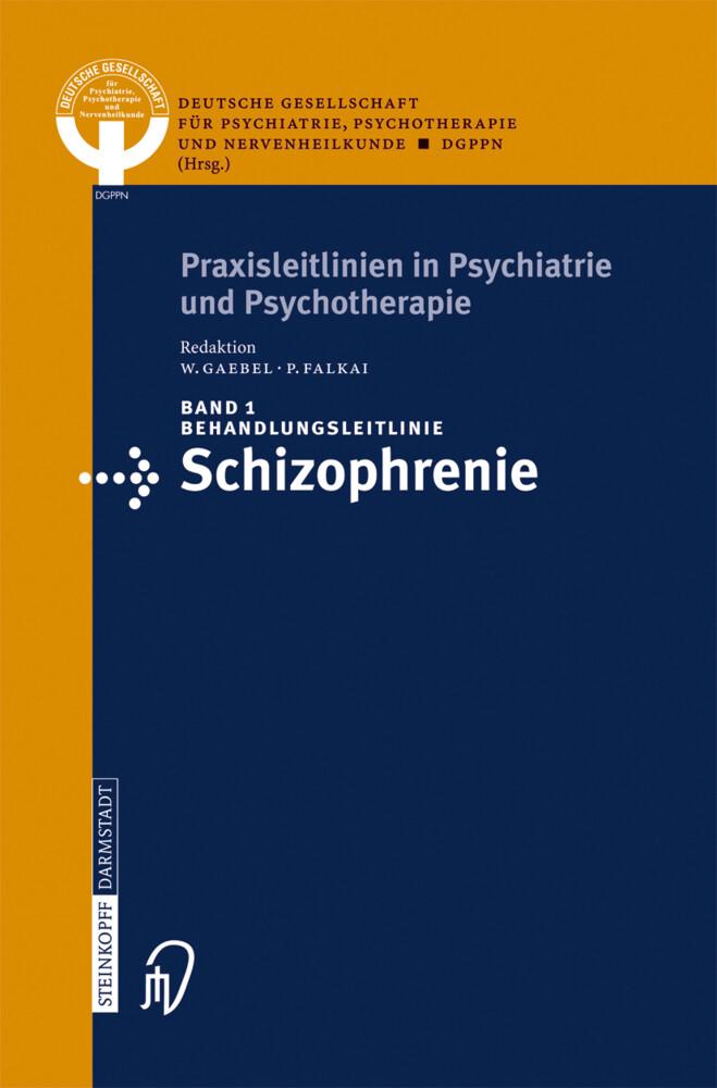 Behandlungsleitlinie Schizophrenie als Buch (kartoniert)