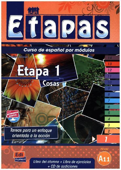 Etapa 1. Cosas -Libro del alumno als Buch (kartoniert)